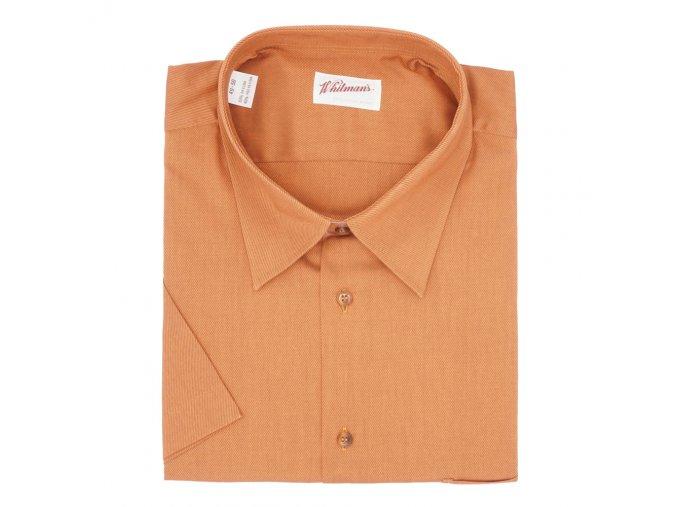 Pánská hnědá košile K1 Poslední kus