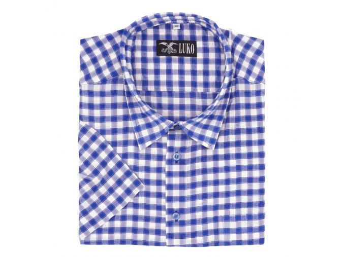 Pánská košile nežehlivá modrá K1