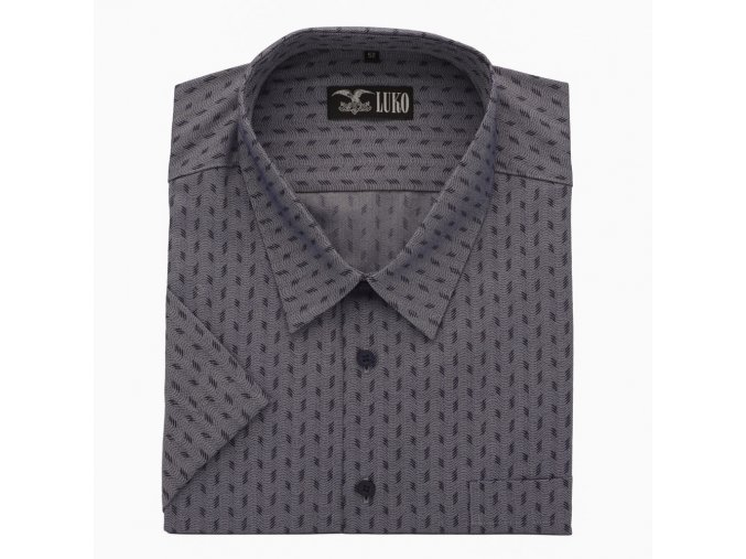 Pánská nadměrná košile modrá čtyřka K 1