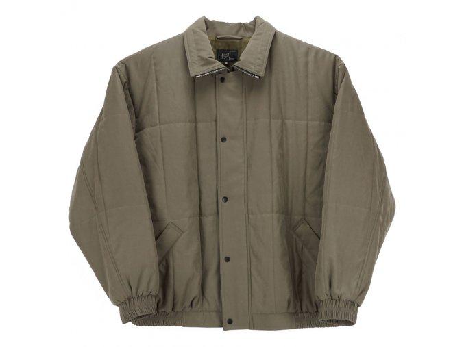 Pánská zimní bunda s gumou oliva H