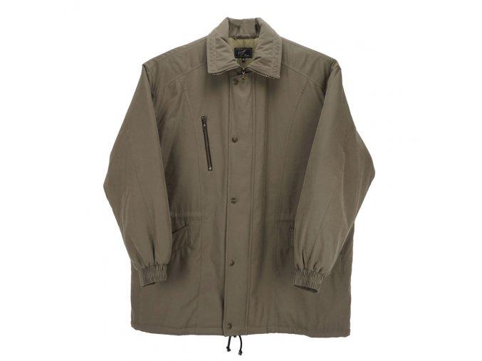 Pánská zimní bunda dlouhá písková H