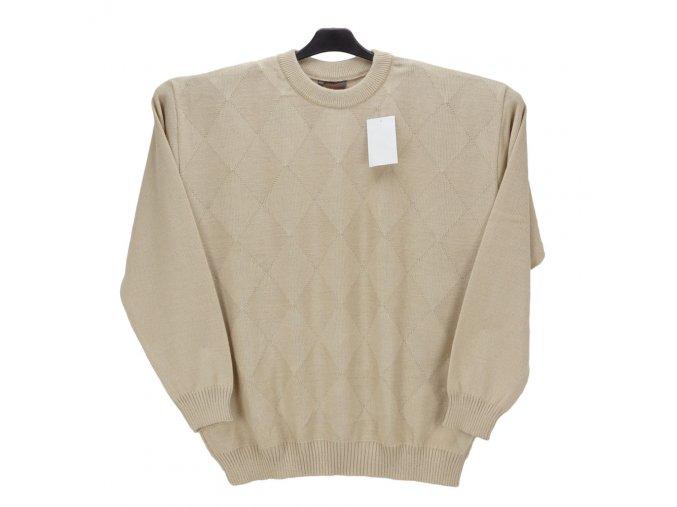 Pánský svetr béžový U