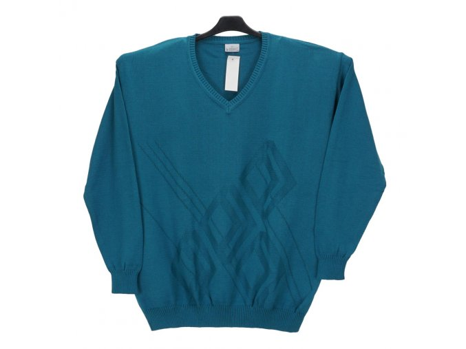 Pánský svetr tyrkys V