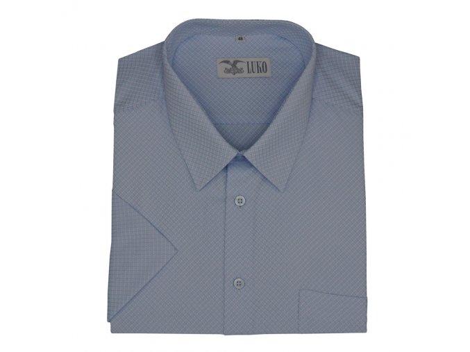 Světle modrá luxusní košile K 204117 1