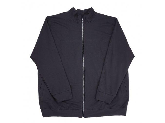 Pánská lehká letní bunda šedá 1