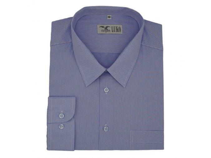 Pánská košile modrý proužek D 182215 1
