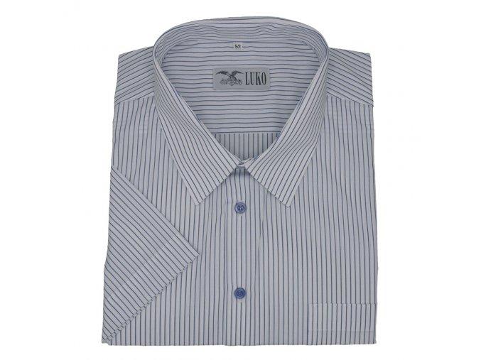 Pánská košile modrý proužek K 154150 1