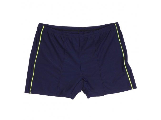 Pánské nadměrné plavky s nohavičkou tmavě modré