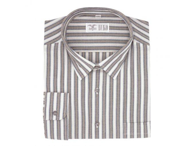 Pánská letní košile s proužky D 082209 1