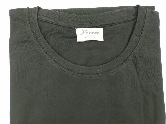 Tričko pánské hladké černé U