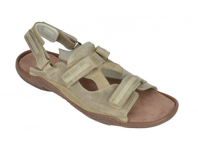 Pánské sandály vzor 71 Beige Hujo