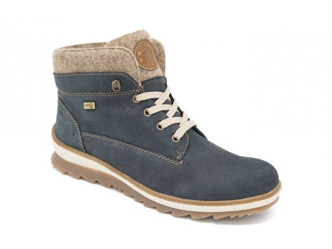 Dámská zimní obuv modrošedá Remonte 1