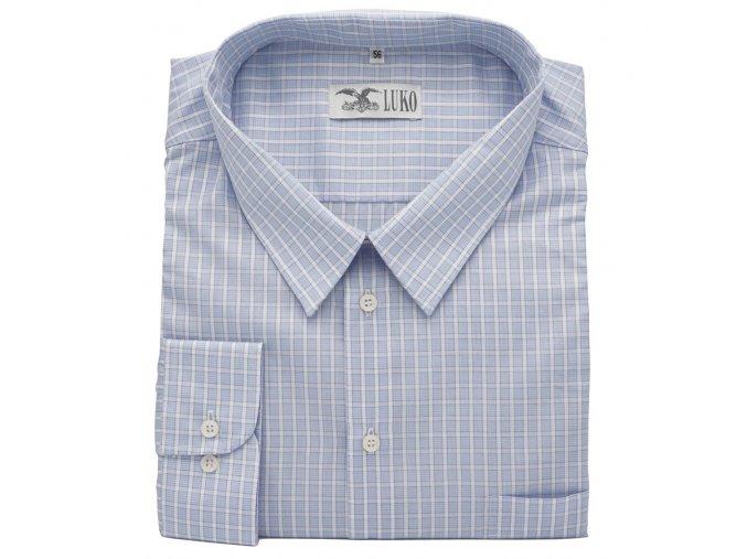 Pánská košile modro bílá D1
