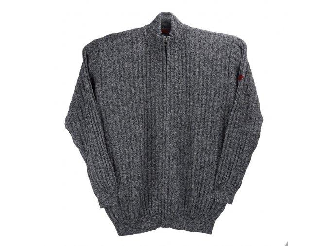 Pánský nadměrný svetr melír