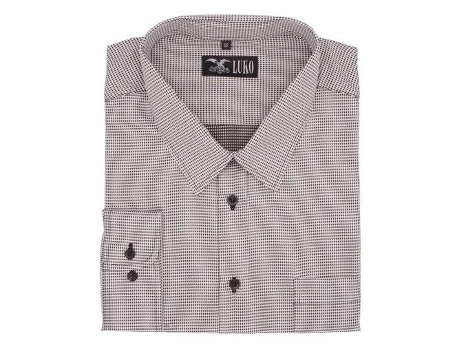 Košile bíločerná kostička 1D