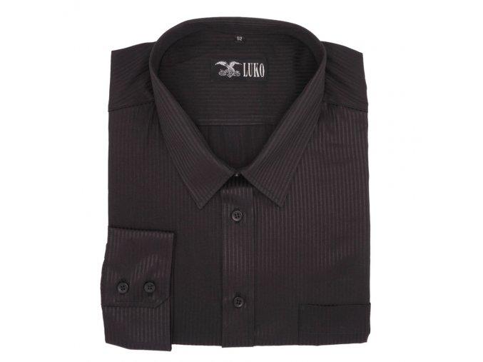 Košile černá s proužkem 1D