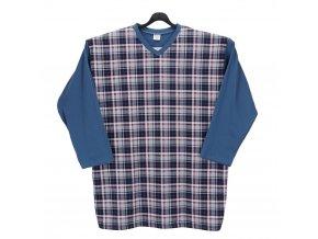 Pyžamo pánské dlouhé světle modré DP1