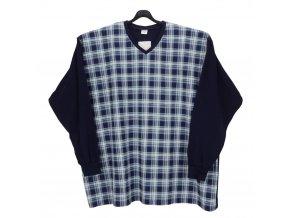 Pánské pyžamo modré bavlna DP1