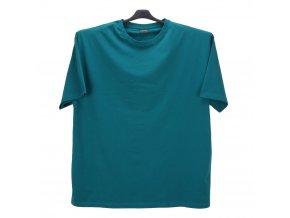 Pánské nadměrné tričko střední zelená KU