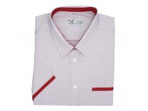 Pánská nadměrná košile barevné tečky K1