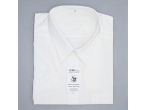 Pánská nadměrná košile jemně smetanová bavlna K1