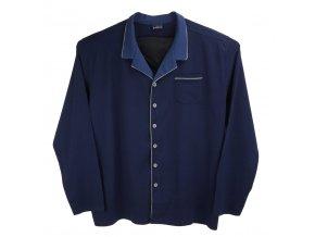 Pánské pyžamo modré s knoflíky Ewident 1D