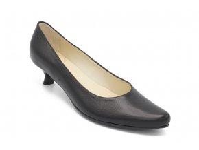 Dámská nadměrná společenská obuv Kačenka černá 1