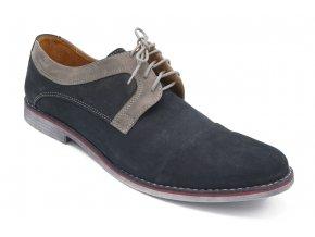 Pánská nadměrná elagantní obuv modrá 1