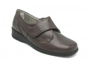 Dámské vycházkové hnědé boty 1