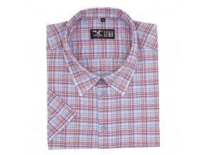 Pánská košile fialová K1 nežehlivá