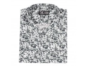 Pánská košile šedé kamínky K1