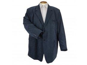 Pánské sportovní vycházkové sako Modré N