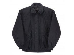 Pánská zimní bunda s gumou černá H