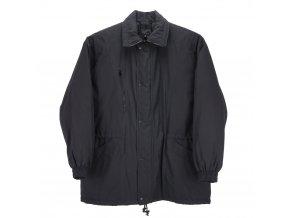 Pánská zimní bunda dlouhá černá H