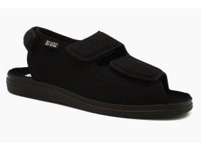 Diabetické sandály černé 1