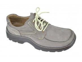 Pánská široká obuv De Plus 608