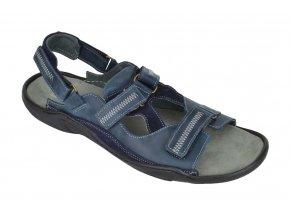 Pánské sandály vzor 71 Navy Blue Hujo
