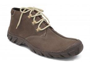 Pánská zimní obuv hnědá Hujo 1