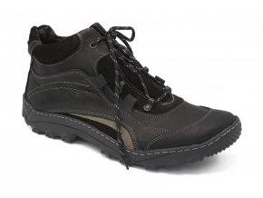 Pánská zimní obuv černá 1