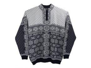 Pánský nadměrný svetr norský vzor