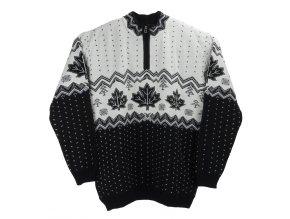 Pánský nadměrný svetr norský černý