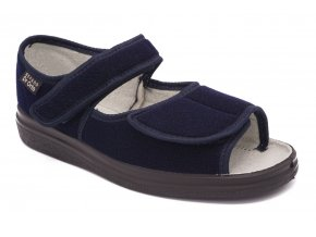 Diabetické sandály modré 1