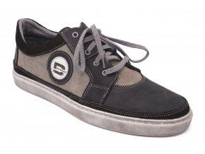 Pánská obuv šedo šedá 1