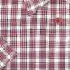 Pánská košile kostka červená s bílou K2