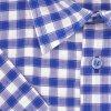 Pánská košile nežehlivá modrá K2