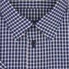Pánská košile modrá kostka K2 204106