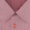 Pánská košile červená vlnka D 142201 2
