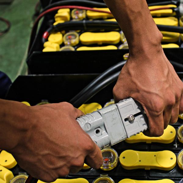 Hluboké vybíjení u trakčních baterií