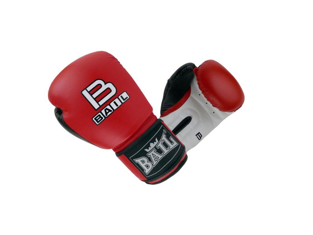 Boxerské rukavice Sparring Bail - červená barva