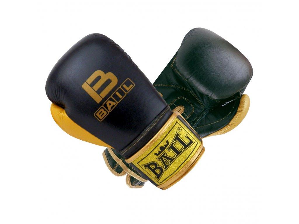 Boxerské rukavice Bail Royal - černá/zlatá barva